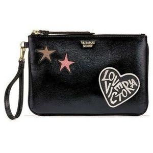 Victoria's Secret Hearts 💕& Stars🌟Wristlet